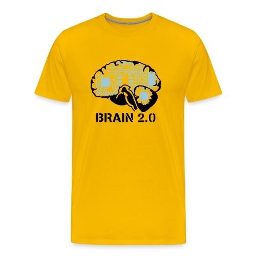 Brain v2.0 - Men's Premium T-Shirt