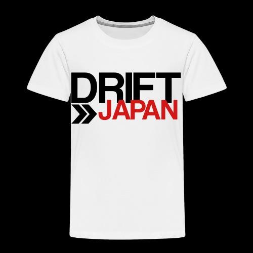 Drift Japan Overlap Logo - Toddler's White T-Shirt - Toddler Premium T-Shirt