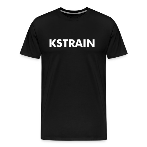 KSTRAIN No Kilauea Strain on Sleeves - Men's Premium T-Shirt