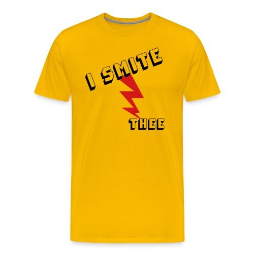 I SMITE THEE - Men's Premium T-Shirt