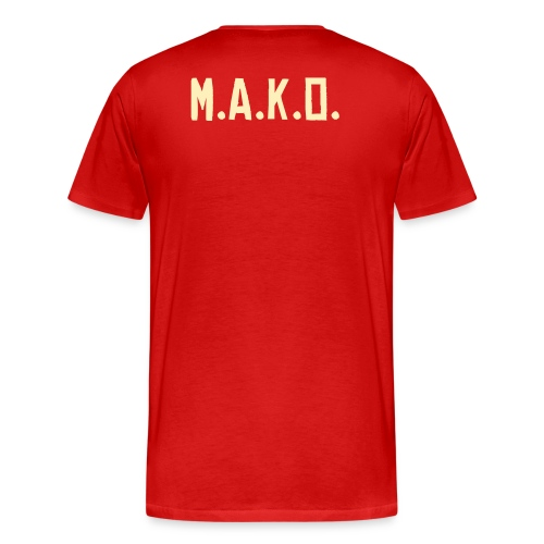 MAKO - Not Your Average M.C. - Men's Premium T-Shirt