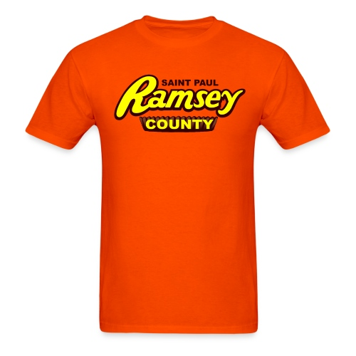 Ramsey County Orange - Men's T-Shirt