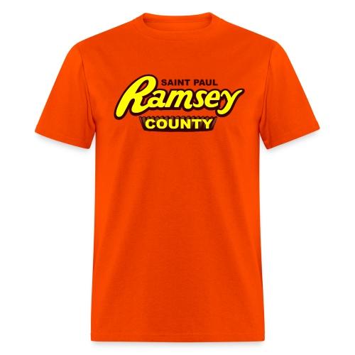 Ramsey County Orange - Men's T-Shirt