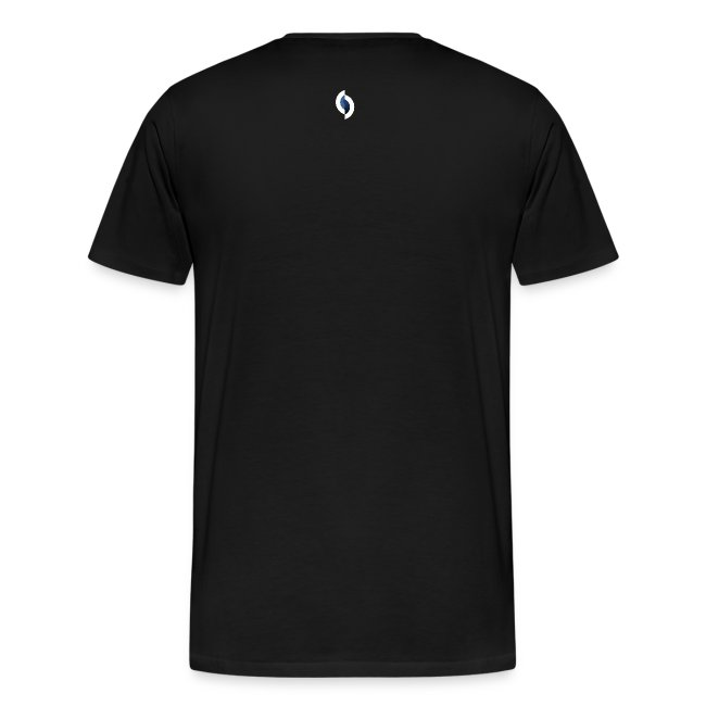 DSEV Men's Heavy Cotton Logo black f&b