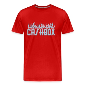 CashboX flame tee - Men's Premium T-Shirt