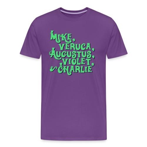 Wonka Kids Shirt - Men's Premium T-Shirt