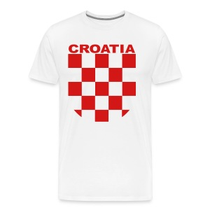 Croatia 3XL Shirt  - Men's Premium T-Shirt
