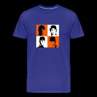 T-Shirts ~ Men's Premium T-Shirt ~ Rotation Tee Blue
