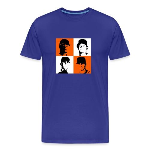 Rotation Tee Blue - Men's Premium T-Shirt