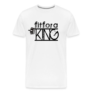 Fit For a King; Heavyweight - Men's Premium T-Shirt
