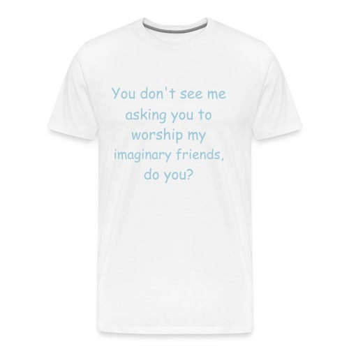 Imaginary Friends Shirt - Men's Premium T-Shirt