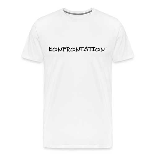 Konfrontation - Men's Premium T-Shirt