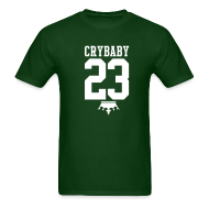 T-Shirts ~ Men's T-Shirt ~ LeBron James Crybaby Tee