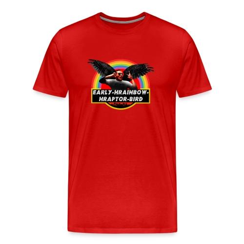 Early Hrainbow Hraptor Bird - Men's Premium T-Shirt