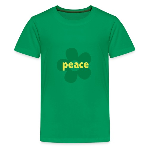 * peace flower *   - Kids' Premium T-Shirt