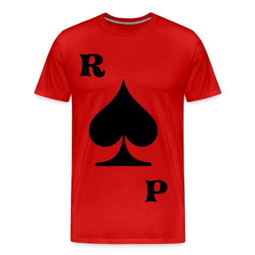 Royal P Card Tee - Men's Premium T-Shirt