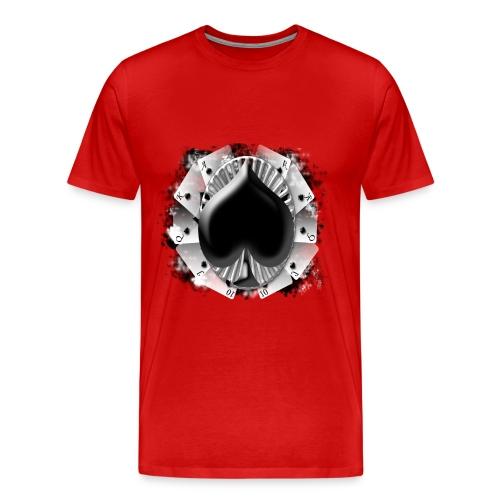 ACE OF SPADES TEE - Men's Premium T-Shirt