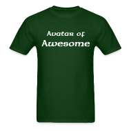 T-Shirts ~ Men's T-Shirt ~ Avatar of Awesome