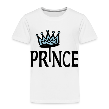 White Prince With 2-Color Crown Kids & Baby