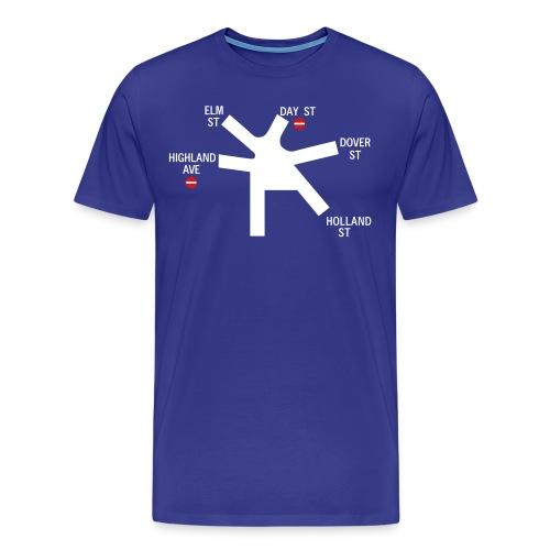 College Ave. Sign - Men's Premium T-Shirt