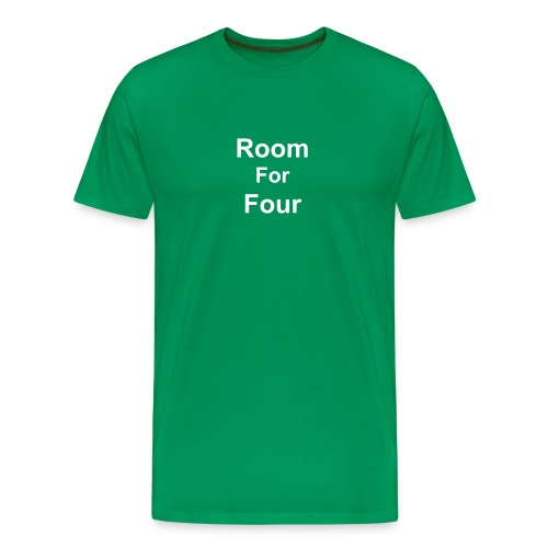 Men T Shirt in Green - Men's Premium T-Shirt
