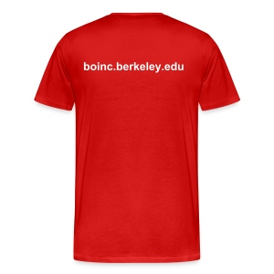 Men's Red Do You BOINC? - Men's Premium T-Shirt