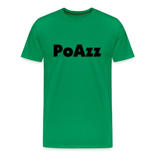 Green PoAzz - Men's Premium T-Shirt