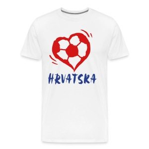 Croatia - Men's Premium T-Shirt