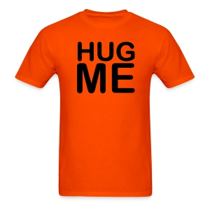 Men's 'Hug Me' Orange - Men's T-Shirt