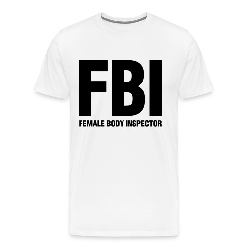 FBI Tee - Men's Premium T-Shirt