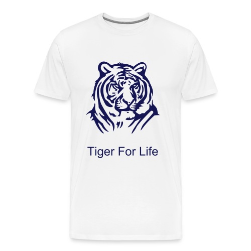Tiger For Life Tee - Men's Premium T-Shirt