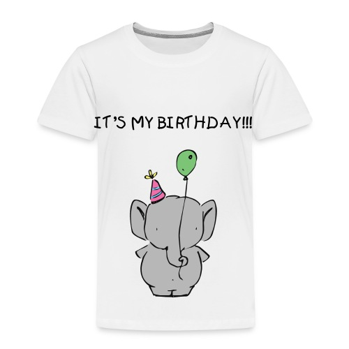 It's My Birthday Toddler Tee - Toddler Premium T-Shirt