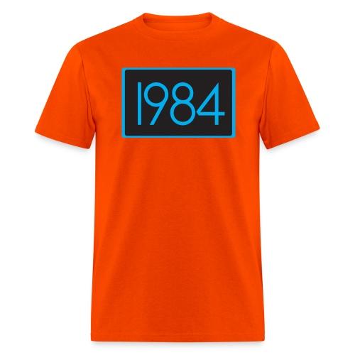 1984 Orange - Men's T-Shirt