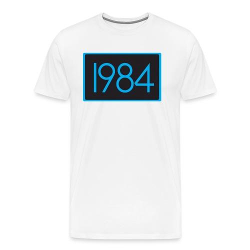 1984 Tan - Men's Premium T-Shirt