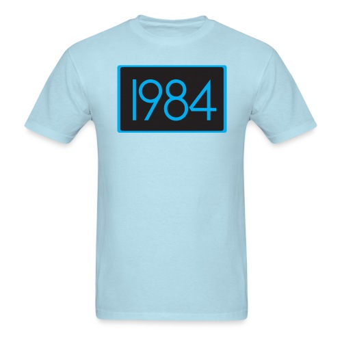 1984 Baby Blue - Men's T-Shirt