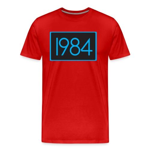 1984 Red - Men's Premium T-Shirt