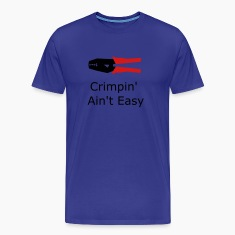 Royal blue crimpers T-Shirts (Short sleeve)