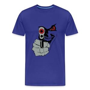 BADNESS OF THE GUN TEE - Men's Premium T-Shirt