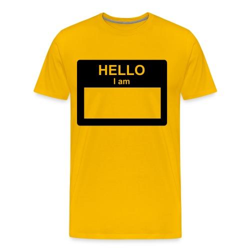 insert name here - Men's Premium T-Shirt
