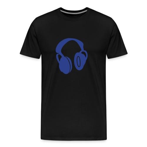 HeadPhonesTee. - Men's Premium T-Shirt