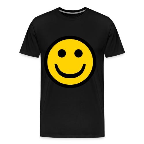 smily face - Men's Premium T-Shirt