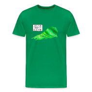 T-Shirts ~ Men's Premium T-Shirt ~ Big Green Blob