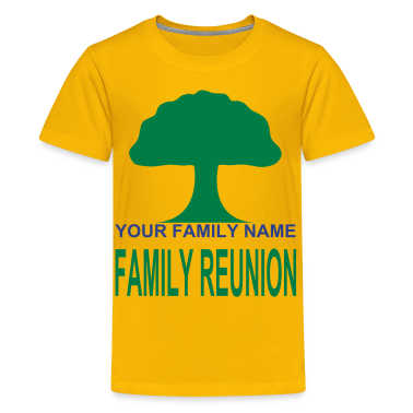 Yellow ***ON SALE!*** FAMILY REUNION -WW(w Kids Shirts
