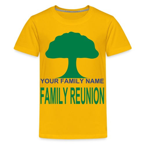 FAMILY REUNION - Kids' Premium T-Shirt