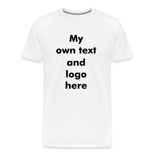 T-Shirt Marketing English - Men's Premium T-Shirt