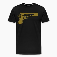 Black 1911 T-Shirts (Short sleeve)