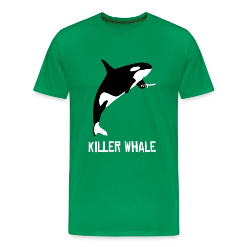 Killer Whale T-Shirt - Men's Premium T-Shirt