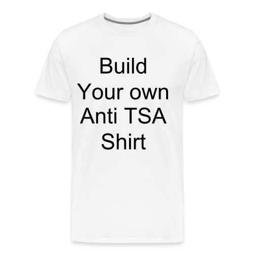 Build your own custom shirt - Men's Premium T-Shirt
