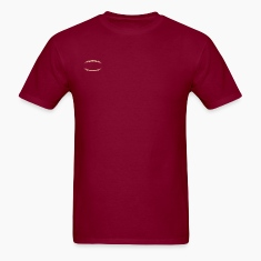 Burgundy american_football_modernstyle T-Shirts (Short sleeve)