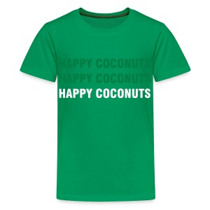 Happy Coconuts 3 print -  green - Kids' Premium T-Shirt